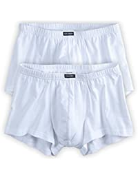 JP 1880 Men's Big & Tall 2-Pack Jersey Cotton Boxers White 10 666670 20-10