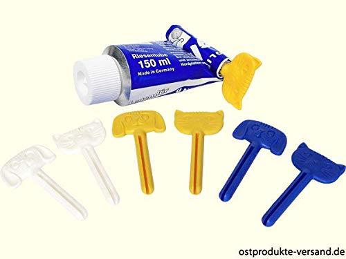 Tubenentleerer 6er Pack | DDR Produkte | für Ostalgiker | Ossi Produkte