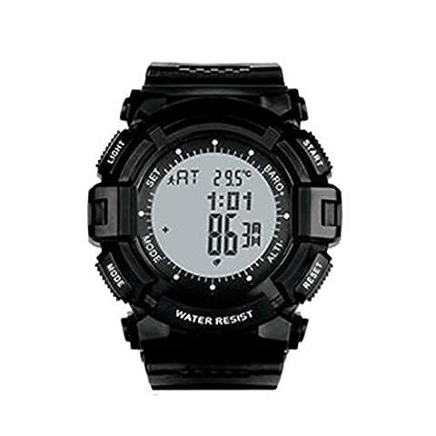North Edge Herren Military Multifunktions Digital Armbanduhr Elektronische LED Rückseite Licht Wasserdichte Sport-Armbanduhr, Herren, Gray screen