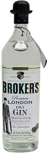 Brokers Gin dry 47% vol. (1 x 1 l)