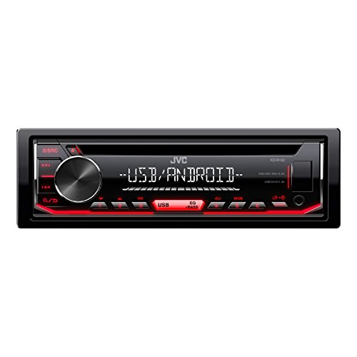 JVC KD-R492 CD-Receiver schwarz