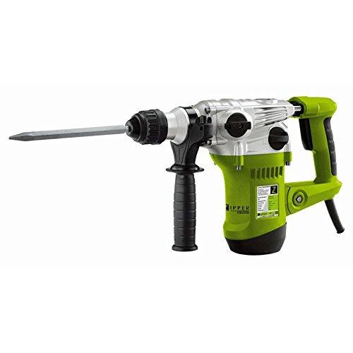 Preisvergleich Produktbild Bohrhammer 1,5 kW / 230 V inkl. 3 Bohrer, Spitz- u. Flachmeißel, Bohrfutter + Halter