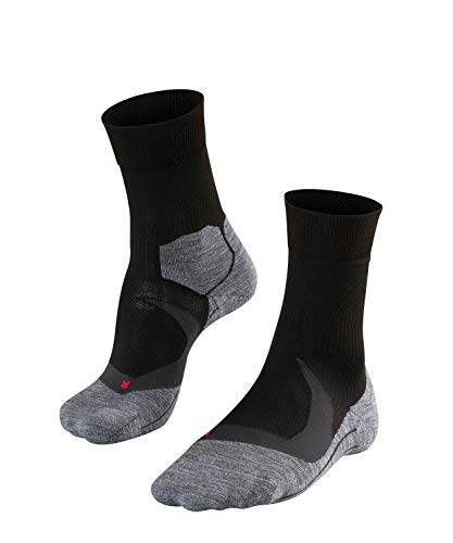 FALKE Herren RU4 Cool Runningsocken, Black-Mix, 44-45 -