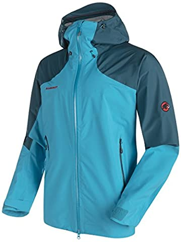 Mammut Teton HS Hooded Jacket Men atlantic-orion -