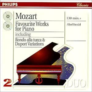 Mozart: Favourite Works for Piano