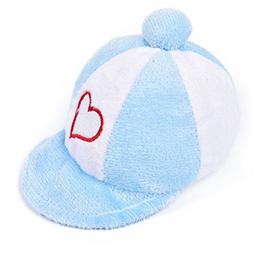 Ratte Kleid (JIALUN-Haustier Schöne Hut Form Pet Plüschtiere Hund Sound Spielzeug Haustier Katze Kauen Spielzeug Welpen Molaren Zähne Reinigungsprodukte ( Color : Blue ))