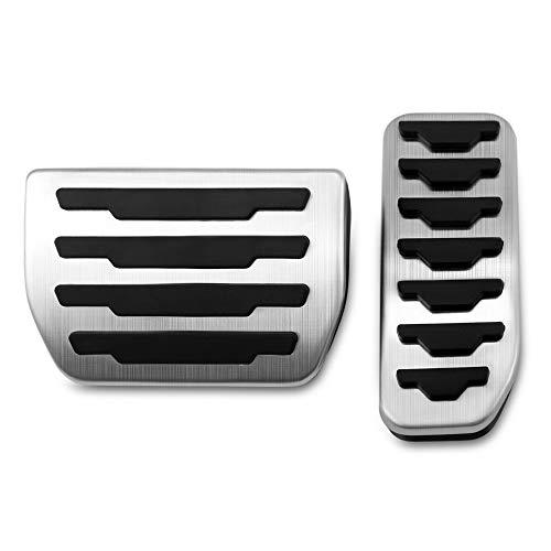 WHKOBM Pedale Auto, Copri pastiglie Freno Benzina Auto Benzina, per Jaguar XE F-Pace, per Accessori Land Rover Range Rover Evoque Car Sty