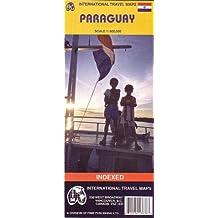 Carte routière : Paraguay