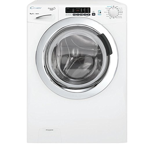 Candy GVS148DC3/1-80 A+++ 8kg 1400 Spin 15 Programmes Washing Machine in White Best Price and Cheapest