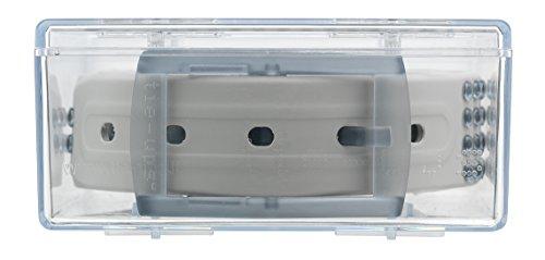 Tie-Ups - CINTURA IN GOMMA E PLASTICA BASIC GLAM PINS LIGHT GREY RIDER