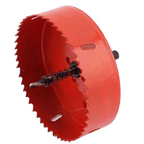 sourcingmap® 120mm schneidend od.Zähnend BI Metall Lochsäge Lochschneider für Holz Eisen de