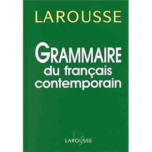 Grammaire Du Francais Contemporain Telecharger Livres
