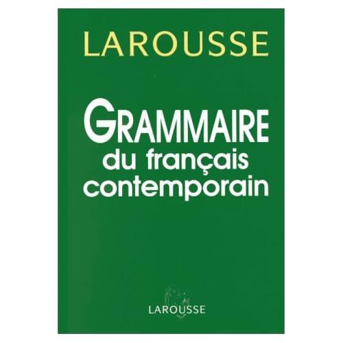 Grammaire du français contemporain