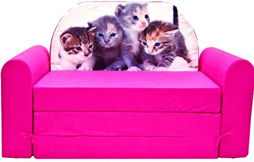 Sofa Kindersofa Spielsofa und Schlafsofa aus Schaum Schlafmatratze 180 x 90 cm Kindersessel (TIMI H6)