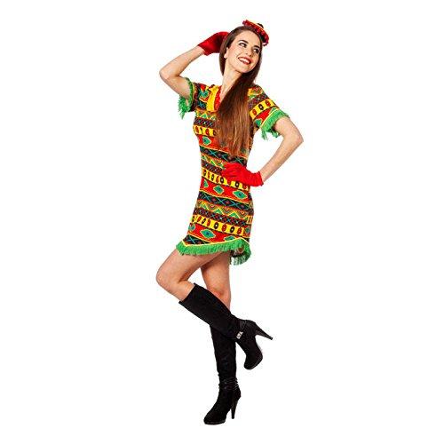 Bandita Kostüme (NEU Damen-Kostüm Mexikanerin Bandita, Gr.)