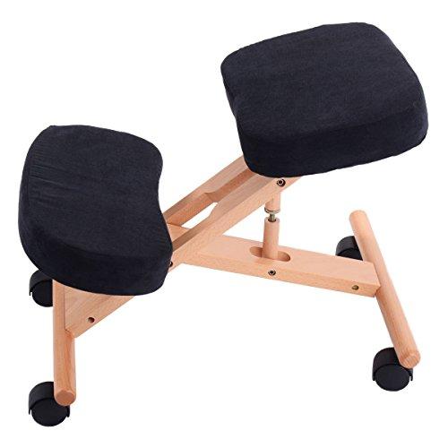 Siège assis-genoux ergonomique réglable de Pro...