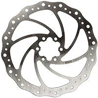 Elvedes Disco SX20montaña/Carretera/E-Bike ø203mm Freno Ciclo Unisex, Plata