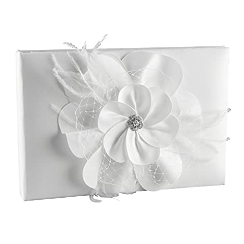 Ivy Lane Design Somerset Collection Guest Book, White