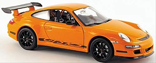 Welly 22495 - Modellino da Collezione in Metallo Porsche 911 (997) GTR3 RS, Scala 1:24, Colore: Verde