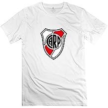 Men's Escudo Del Club River Plate Round Neck Fans T-Shirt XXXX-L