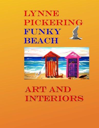 Funky Beach Art: Fun Beach Art for the Modern Decorator: Volume 10