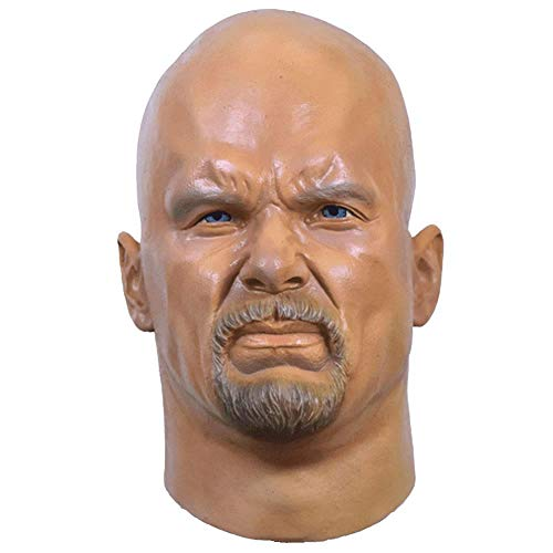 Trick or Treat Studios Adult Stone Cold Steve Austin Mask Standard (Treat Or Trick Studios)