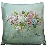 Kissenhüllen Kissenbezug Weich Hülle Kissen Bezug Hüllen Bezüge 40x40 Blumen Romantik Nostalgie