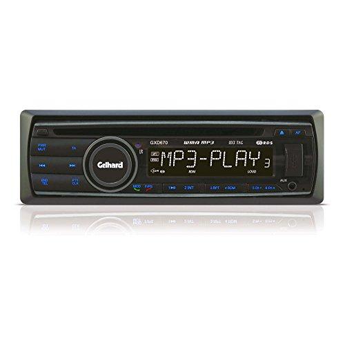 Tv Lautstärke-fernbedienung Für (AUTORADIO Gelhard GXD670 CD/MP3/WMA USB SD RDS Bluetooth 4x60 Watt)