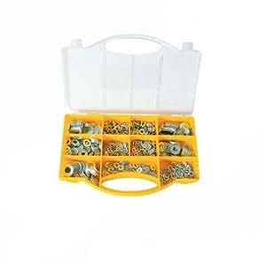 Silverline 596240 Coffret de rondelles métalliques Assorties