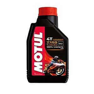 Motul 7100 4T 104089 Huile pour moto à moteur 4 temps 10W-30 1l pas cher