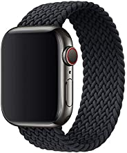 Compatible with Apple Watch elastic band 42/44 mm(Medium), suitable for iWatch series 6/5/4/3/2/1, fashionable