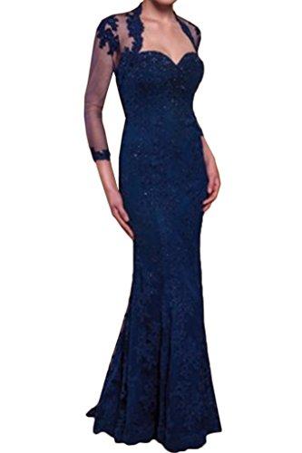 Promgirl House - Robe - Crayon - Femme Bleu - Bleu foncé
