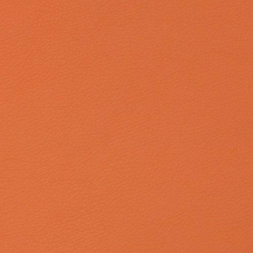 Orange-nappa Leder (Kunstleder Cayenne Glattleder Lederimitat Optik Meterware Polsterstoff Bezugstoff 1120 - Orange)