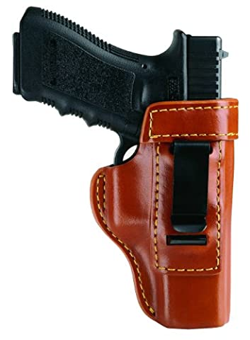 Gould & Goodrich 890-G19 Concealment Inside Trouser Holster (Chestnut Brown) Fits GLOCK 19, 23, 32 by Gould &