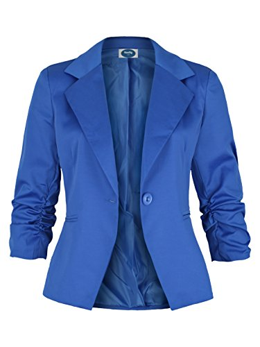 AO Damenblazer mit 3/4 Arm royal blau Gr. XXL