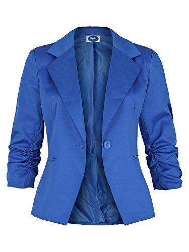 AO Damenblazer mit 3/4 Arm royal blau Gr. L (Royal Blauer Blazer)