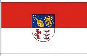 Königsbanner Hissflagge Spiesheim - 100 x 150cm - Flagge und Fahne