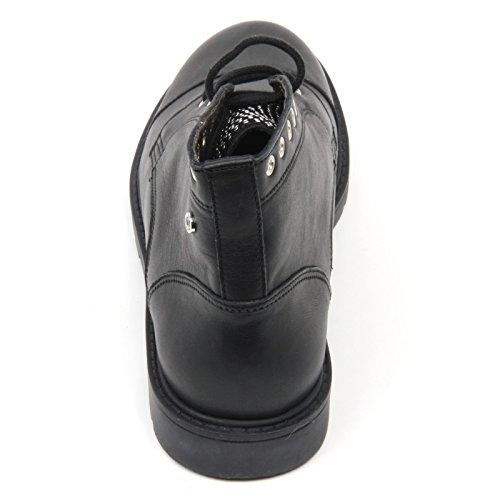 Naturino anfibio basso 4752 nero pelle con borchie Nero