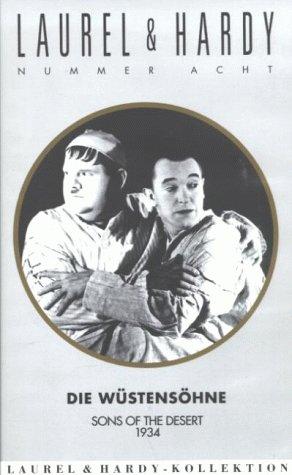 Laurel & Hardy - Die Wüstensöhne [VHS] Vintage Laurel