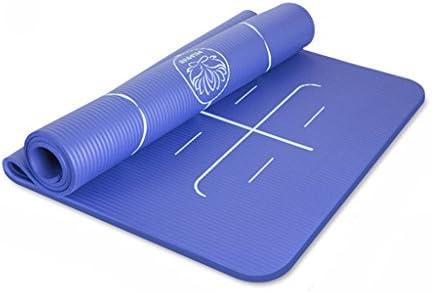 GLJ Yoga Mat Principiante Tappetino Fitness Tre Tre Tre Pezzi Allargamento di 90 Cm Ispessimento Lungo Danza Antiscivolo Femminile Tappetino Yoga (Coloreee   Blu) B07GDLFNNV Parent | Imballaggio elegante e robusto  | Lascia che i nostri beni escano nel mondo  | 24259a