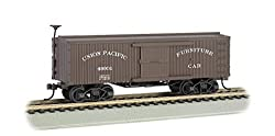 Bachmann Industries Union Pacific Old-Time Box Furniture Car HO Scale Train