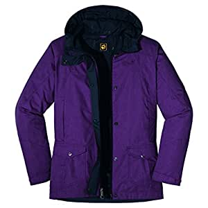 Jack Wolfskin Damen Parka Paradise Hill 1102731 XS purple dawn