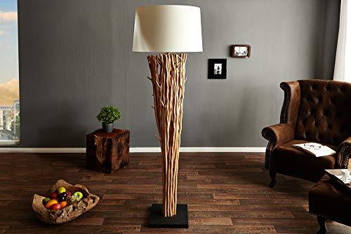 175 Holz (Invicta Interior 20697 Stehleuchte aus Treibholz Euphoria 175cm)