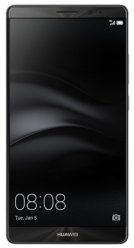 Huawei Mate 8 - Smartphone de 6'' (Bluetooth 4.2, 3 GB de RAM, memoria interna de 32 GB, cámara de 316 MP, Android 6.0), color negro