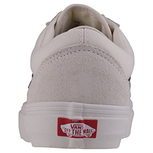 e57022b2007f14 Vans Damen Old Skool Sneakers Elfenbein Vintage White vintage Indigo ...