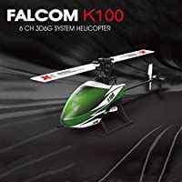 Momola WLTOY XK K100 6CH 3D 6G System RTF RC Helicopter Built-in Gyro Super Stable Flight