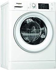Whirlpool FWSD 71283WS EU, Lavatrice Slim a Carica Frontale a Libera Installazione, 7 Kg, 22 Programmi, A+++,