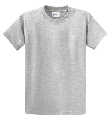 port-company-essential-t-shirt-100-coton-gris-large