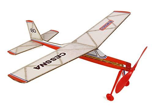 i Powered Balsaholz Modell Flugzeug Kit Spannweite 450mm ()