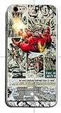 TN Cases Store Coque iPhone X et iPhone XS Iron Man Marvel Super Hero Comics Silicone Souple